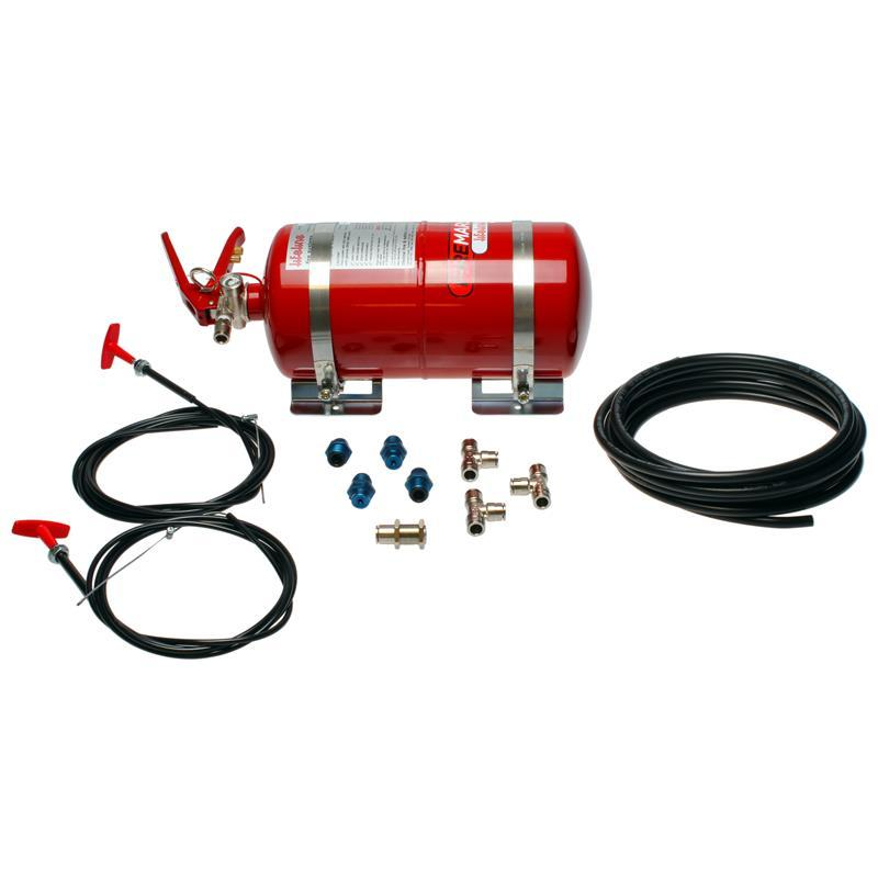 Zero 2000 FIA 4.0ltr Fire Marshal Mechanical - Steel Cylinder